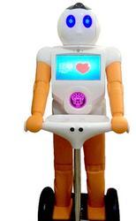 Сенсорный экран wifi умный робот домашняя Автоматизация безопасность WiFi Пульт дистанционного головоломка разговорный робот