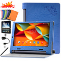 Suporte de couro Do Caso Da Aleta Para Lenovo YOGA Tab 3 YT3-X50F YT3-X50L YT3-X50M X50F X50L X50M Capa Casos de Proteção Shell Tablet pele