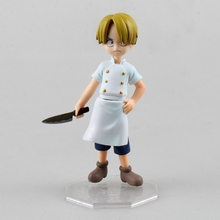 Anime One Piece POP Sanji Chef With Cooking Knife Childhood Ver. 12 CM PVC Action Figure 1 Pcs