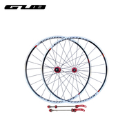 2pcs Lot GUB RACE 10 11 Speed Compatible 700C Road Bike Bicycle Wheelset Surface Of Anode