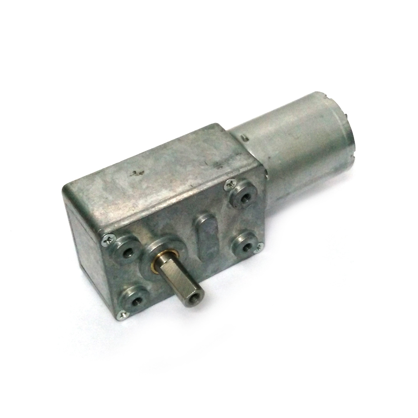 Hot!! Worm <font><b>Motor</b></font> 1-100r/min DC 3V 6V 12V Gear <font><b>Motor</b></font> High Torque Reduction <font><b>Motor</b></font> Self-lock 12v Geared Worm <font><b>Motor</b></font> image