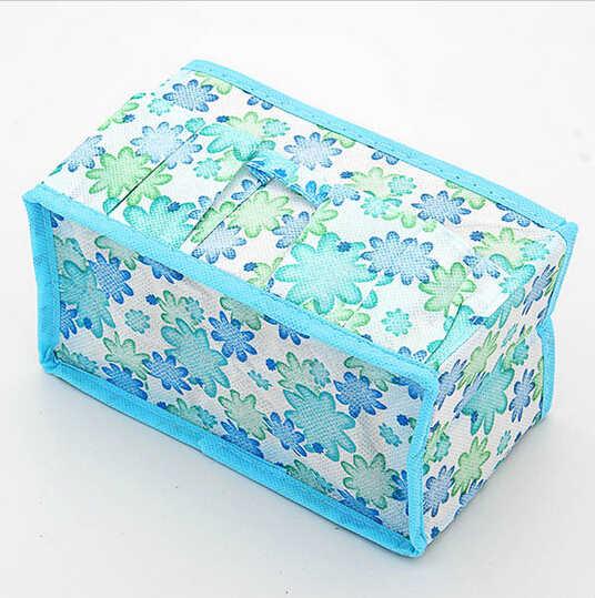 По уходу многофункциональный с цветочным орнаментом складной многофункциональный органайзер для косметики Ящик Контейнер, ящик для хранения нижнего белья organizerB070-1
