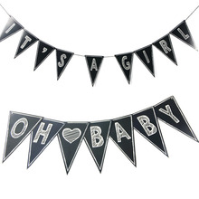 Versatile DIY Chalkboard Banner Custom Letters&Numbers&Symbols Sheets Wedding/Birthday/Shower/Classroom Party Supplies