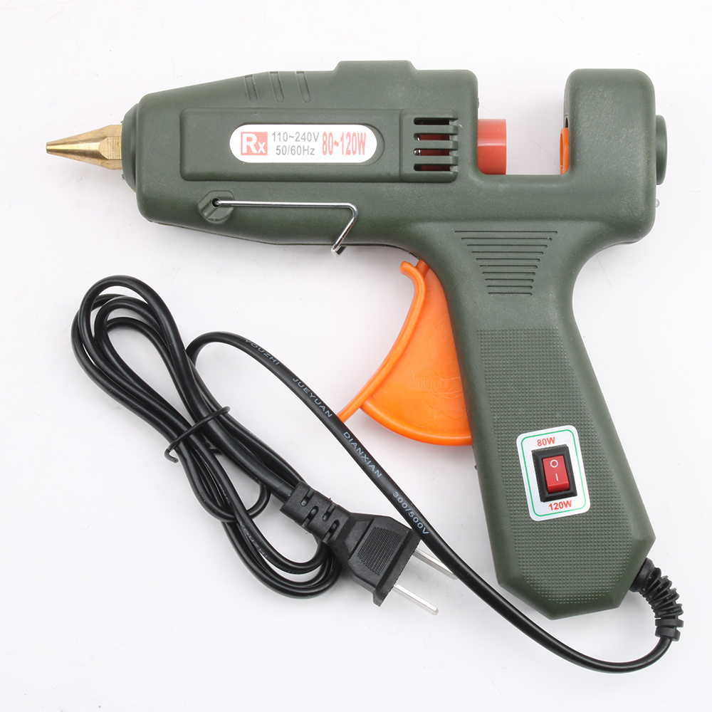 Glue Guns 80/120w Glue Gun Hot Melt Glue Stick Household Hand Tool Switch Glass Silicon Strip Hot Melt Electrothermal Glue Stick Gun Do You Want To Buy Some Chinese Native Produce?