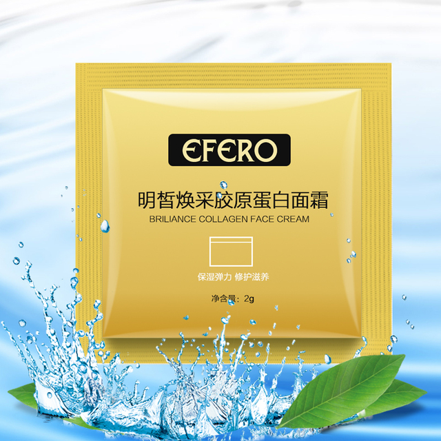 10packs Collogen Moisturizing Face Cream Skin Care Whitening Cream Lifting Firming Anti Wrinkle Serum for Face Cream Essence 2