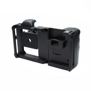 Image 3 - Cage commune de tournage de plate forme vidéo de stabilisateur dappareil photo de Smartphone de Cage de lapin + lentille pour lappareil photo destabilizador de téléphone diphone de Xiaomi
