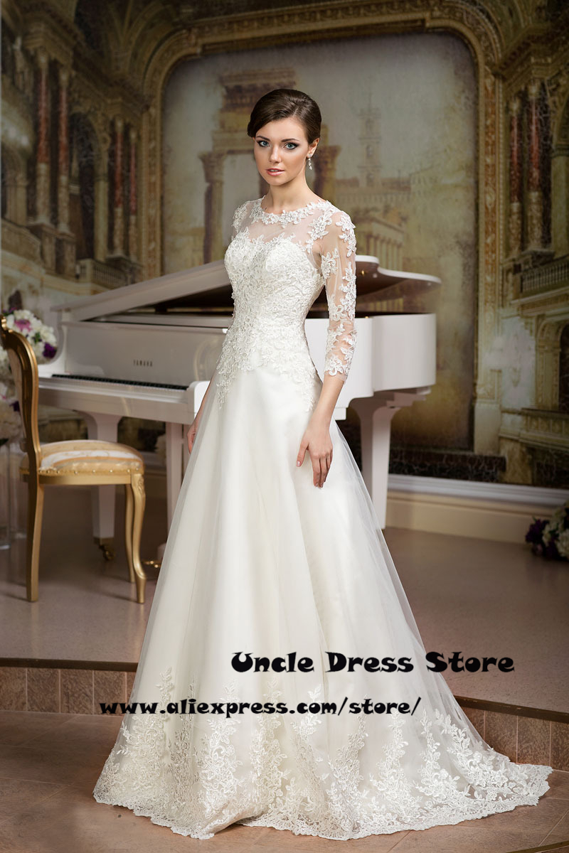 Western Lace Wedding Gowns_Wedding Dresses_dressesss
