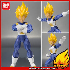 "Sale 100% Original BANDAI Tamashii Nations S.H.Figuarts (SHF) Action Figure - Vegeta Premium Color Edition from ""Dragon Ball Z""(China)"