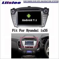 Android 7 1 2G RAM For Hyundai Ix35 2009 2015 Car Radio Audio Video Multimedia DVD