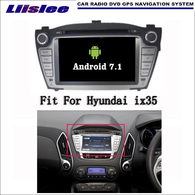 Android 7.1 2G RAM For Hyundai ix35 2009~2015 Car Radio Audio Video Multimedia DVD Playe ...