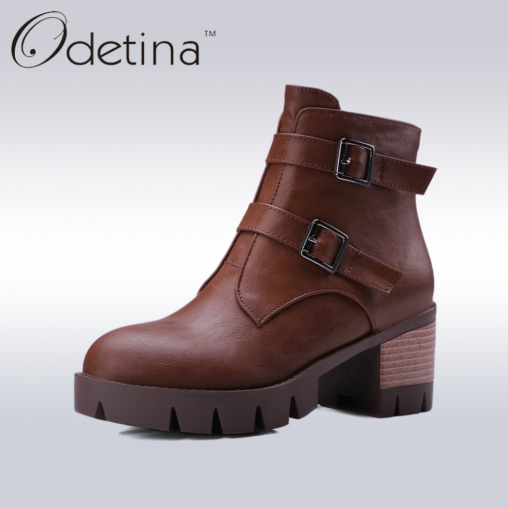 Online Get Cheap Brown Heeled Ankle Boots -Aliexpress.com ...