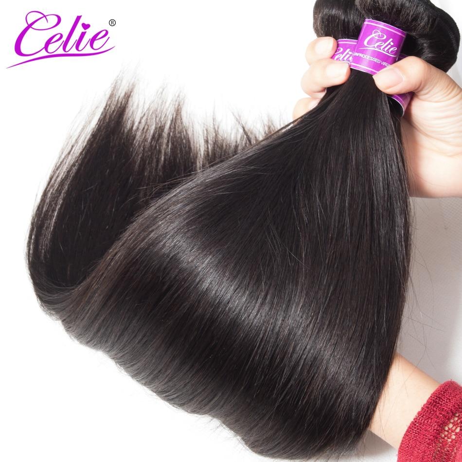 HTB1BM9yicbI8KJjy1zdq6ze1VXaH Celie Hair Brazilian Hair Weave Bundles With Closure Straight Hair Bundles With Closure Remy Human Hair Bundles With Closure