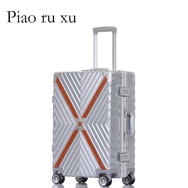 Aluminum frame Rolling Luggage Suitcase Bag,Multiwheel Trolley Case, Nniversal wheel Carry-On,Hardside Travel box Drag