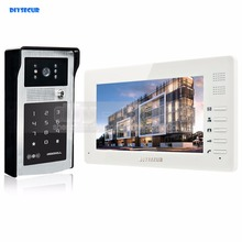 DIYSECUR 7 inch HD TFT Color LCD Monitor Video Door Phone Video Intercom Doorbell 300000 Pixels Night Vision Camera