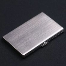 High Quality Ultra Thin 12pcs Cigarette Case & Exquisite Gift Box Metal Long Tob
