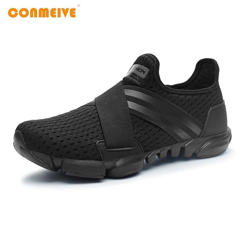 2018 מוגבל קשה משפט רחב (c, d, w) ריצה נעלי גברים לנשימה סניקרס להחליק על משלוח לרוץ ספורט כושר הליכה Freeshipping