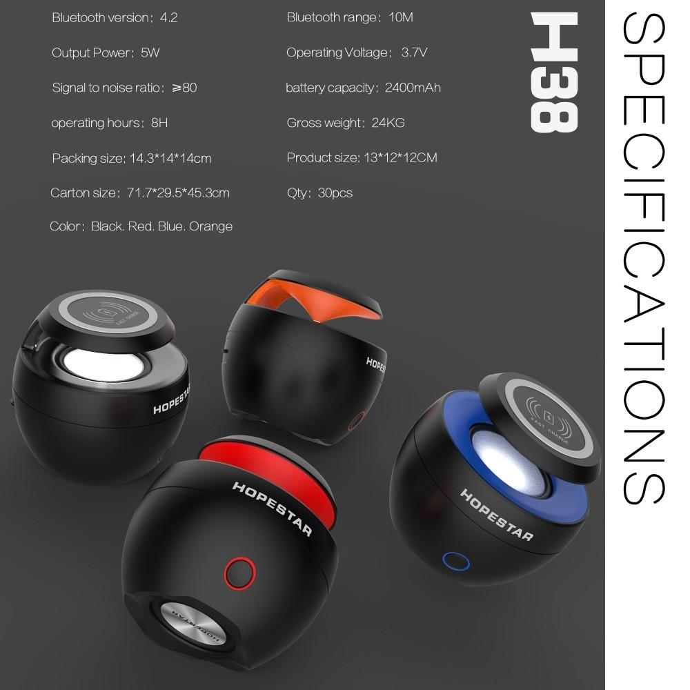 Columna Porttil Altavoz Bluetooth Con Funcin De Cargador Inalmbrico Qi Cargador Inalmbrico Para El Iphone X Samsung Xiaomi Huaw Portable Speakers Aliexpress