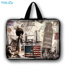 WOW print Laptop Bag tablet Case 9.7 12 13.3 14.1 15.6 17.3 inch Notebook sleeve cover For macbook pro 13 retina LB-24765