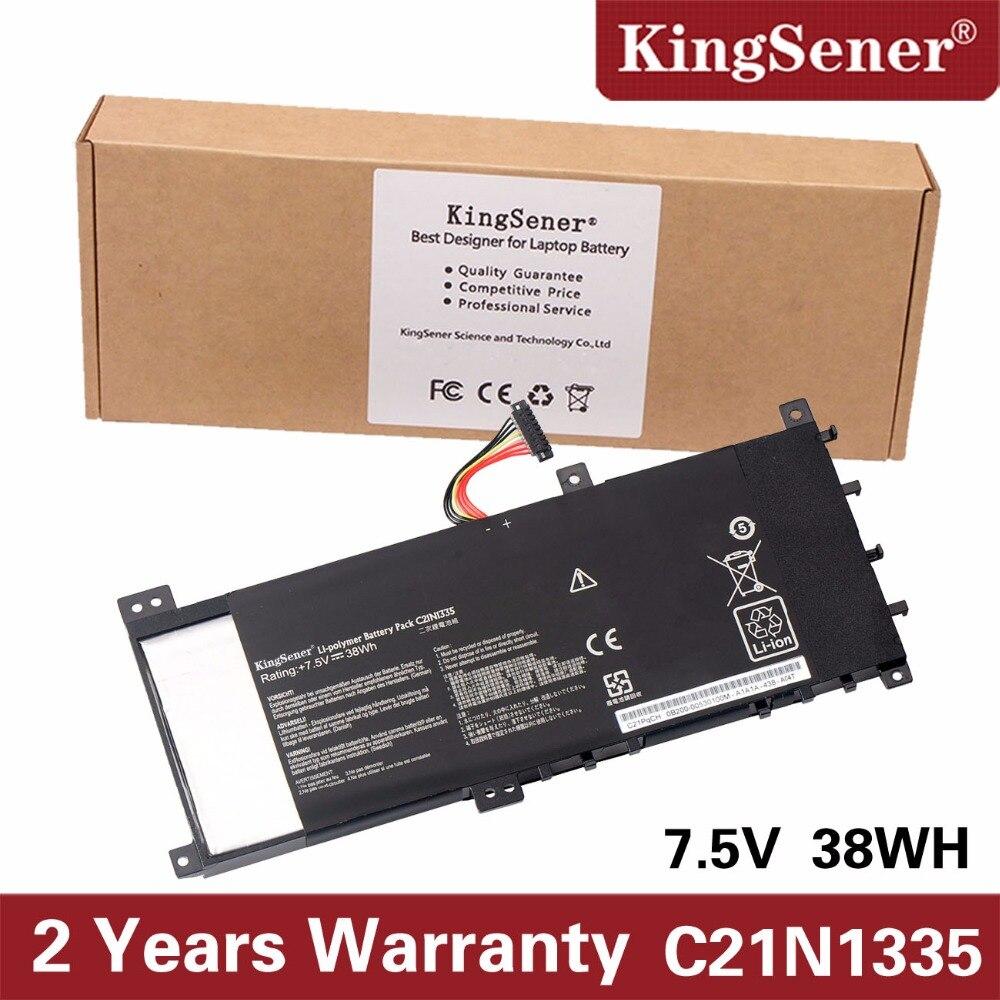 KingSener C21N1335 Nouvel Ordinateur Portable Batterie pour ASUS VivoBook S451 S451LA S451LB S451LN Série Ultrabook 7.5 v 38WH