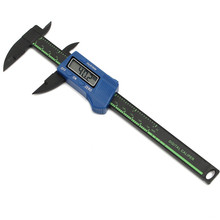 Promo offer 150mm Electronic Digital Caliper Carbon Fiber Vernier Caliper Gauge Micrometer Measuring Tool Digital Ruler