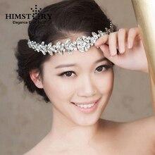 Vintage Bride Hair Accessory Wedding Rhinestone Hair Accessory Head Jewelry Headband цена 2017