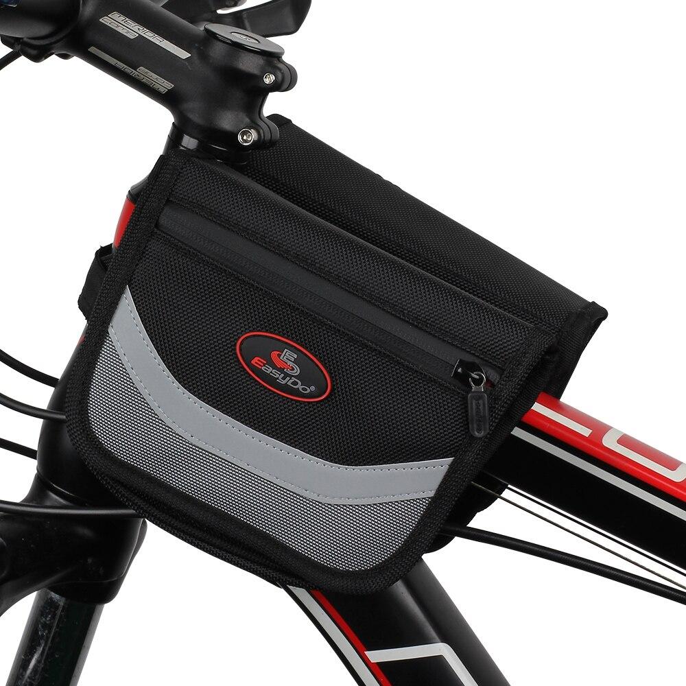 Easydo na tubulação transportando saco alforje bicicleta antes de grande capacidade na condução pacote de acessórios de bicicleta