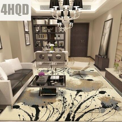 Moderna semplice soggiorno studio camera da letto divano tavolino ...