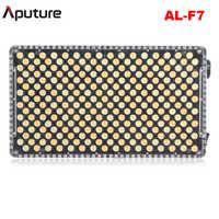Aputure Amaran AL-F7 bi-couleur température 3200-9500K CRI/TLCI 95 + 256 pièces LED panneau réglage continu sur caméra LED lumière vidéo