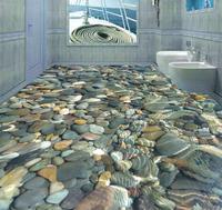 Photo floor wallpaper 3d stereoscopic stone Waterproof floor mural painting Custom Photo self adhesive 3D floor