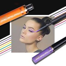 Matte Color Eyeliner Pearl Long-Lasting Eye Shadow Liquid Eyeshadow Neon Eyes RQS-33