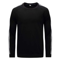 Autumn Mens T Shirts Gray Green Black Brand Clothing For Man's Long Sleeve T Shirts Plus Size Tops Tees