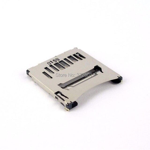 Novo sd slot para cartão de memória titular peças reparo para nikon d3300 d750 d810 slr