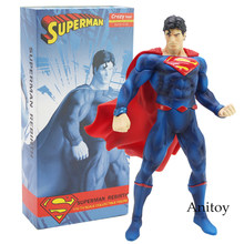 Crazy Toys Superman Rebirth 1/10th Scale Collectible Figure Model Toy 19.5cm(China)