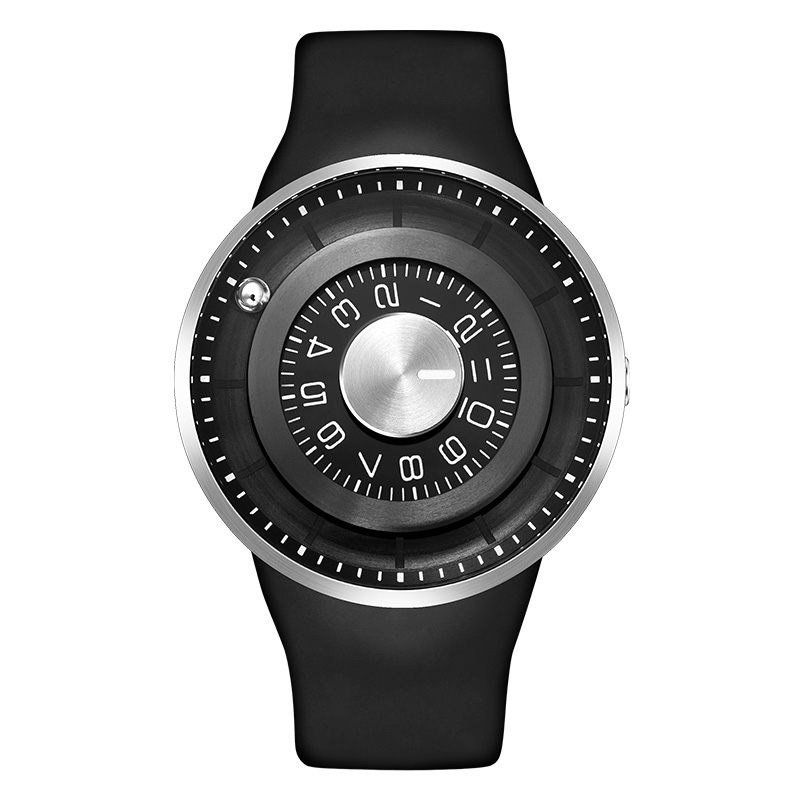 Watches Digital Watches New Roll Ball Analog Display Men Watches Exquisite Inspired Led Watch Stainless Steel Sports Wristwatches Ll Attractive Designs;