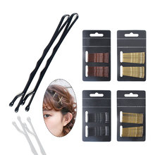 24pcs/lot Hair Clip Ladies Hairpins Girls Hairpin Curly Wavy Grips Hairstyle Women Bobby Pins Styling Accessorie