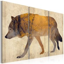Wholesale 3 Pieces/set Animal poster Wall Art For Wall Decor Home Decoration Picture Painting PJMT-B (320)(China)