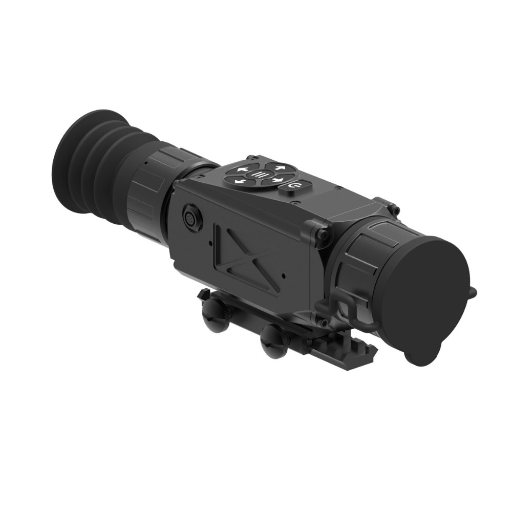 New Arrival Thermal Imaging Sight Scope OLED Display Hunting 384x2.4 9.6x35mm 50Hz w/ 1024*768 Black W2588
