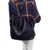 Donne di modo di Cuoio della spalla crossbody bag designer borse a tracolla di sesso femminile secchio borse messaggio DF545