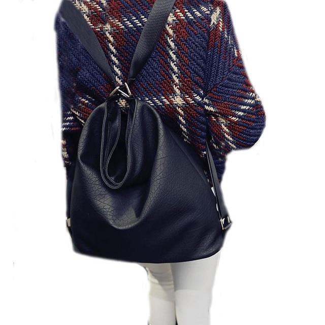 2c1fcb00ddd Fashion women Leather crossbody shoulder bag designers messenger bags  females bucket message bags DF545