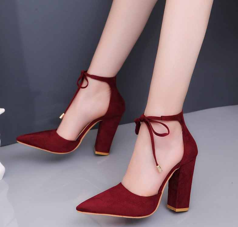 2018 Sexy Classic High Heels Women's Sandals Summer Shoes Ladies Strappy Pumps Platform Heels Woman Ankle Strap Shoes EUR34-43