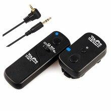 Youpro yp-860/e3 2.4g controle remoto sem fio do obturador para canon eos 650d 600D 550D 1100D 1200D 1300D Rebel T5i T4i T3i T3 T2i XS