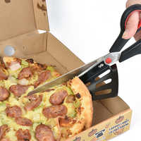 27.5CM Pizza Scissor Pancake Cutter Spatula Slicer Pastry Kitchen Pie Serve Slice Tool Shear Restaurant Baking Tool Pizza cutter