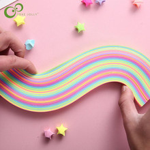 140pcs 26cm Mixed 9 Colors Paper Quilling Paper DIY Decoration Pressure Relief Gift Origami Craft Paper GYH(China)