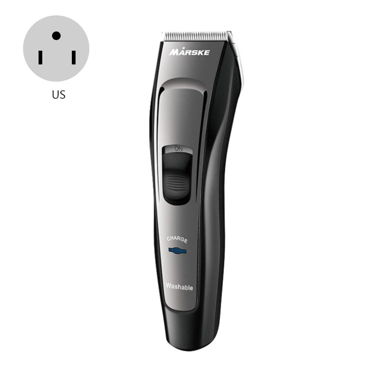 Kit de coupe de cheveux numérique Pro Kit de coupe de cheveux sans fil Rechargeable imperméable à l'eau électrique Kit de toilettage pour adulte et bébé