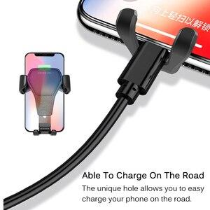 Image 5 - Uniwersalny uchwyt samochodowy na telefon Gravity Car Air Vent Mount w samochodzie na iPhone XS X Samsung Xiaomi obsługa jedną ręką uchwyt na stojak na telefon