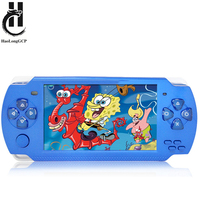 Upgrade New Version 4.3 inch 8GB retro mini handheld game console for gba fc for snes for sega for neogeo arcade game player