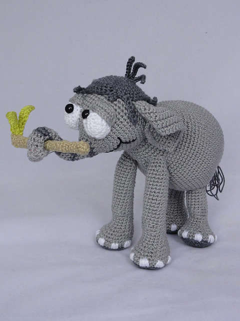 US $45 0 |Amigurumi Crochet jambo the Elephant rattles toy doll-in Baby  Rattles & Mobiles from Toys & Hobbies on Aliexpress com | Alibaba Group