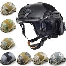 Быстрый Шлем страйкбол MH камуфляж тактические шлемы ABS спорт Открытый тактический шлем