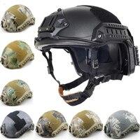 새로운 빠른 헬멧 Airsoft MH 위장 전술 헬멧 ABS 스포츠 야외 전술 헬멧|tactical helmet|fast helmethelmet airsoft -