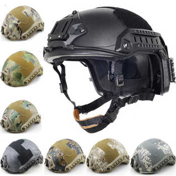 New FAST Helmet Airsoft MH Camouflage Tactical Helmets ABS Sport Outdoor Tactical Helmet - DISCOUNT ITEM  42% OFF All Category